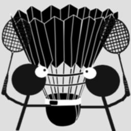 火柴人打羽毛球