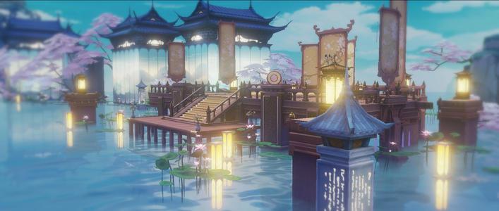 花与剑四大角色亮相杭州_三次元里更撩人