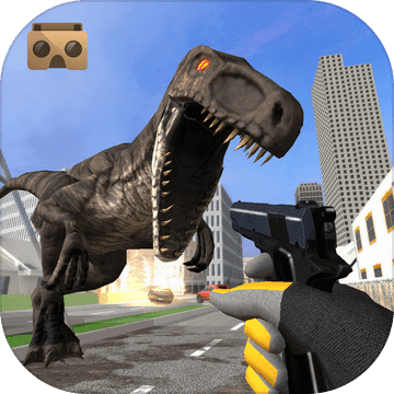 VR恐龙猎人城恐龙生存游戏3D