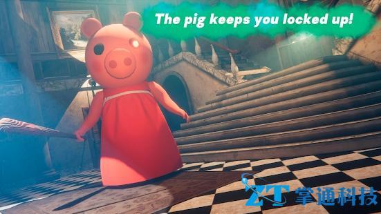 逃离小猪佩奇的家