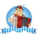 欢乐手风琴贴纸