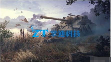 """重火力堡垒!《坦克世界闪击战》全新坦克""""战龟""""MK.I国服首发!"""